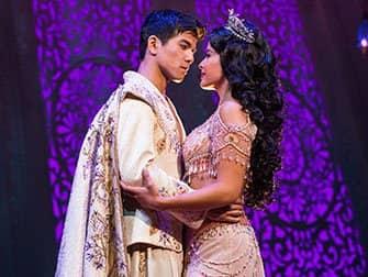 Aladdin Broadway billetter - Aladdin og Jasmin