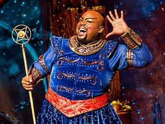 Aladdin Broadway billetter - Genie