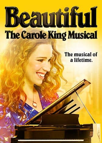 Beautiful: the Carole King Musical Broadway billetter - Plakat