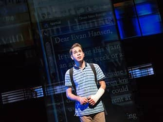Dear Evan Hansen Broadway billetter- Music Box Theatre