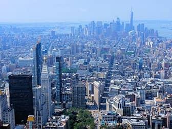 Empire State Building billetter - Udsigt over Downtown