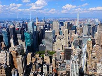 Empire State Building billetter - Udsigt over Uptown