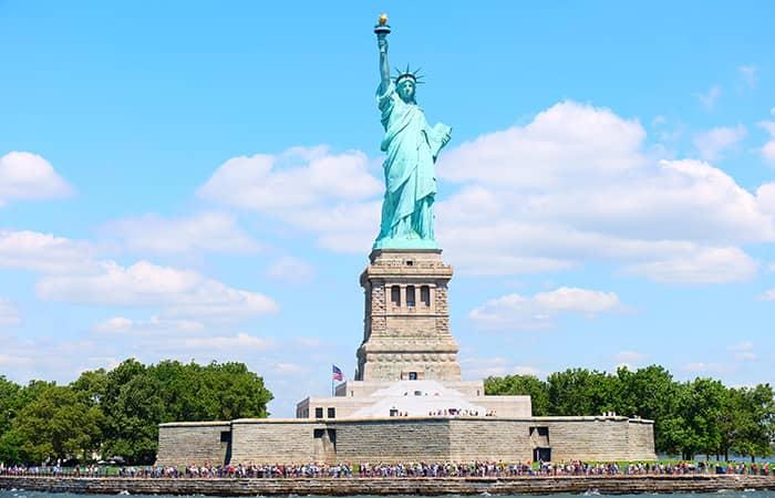 Frihedsgudinden - Liberty Island