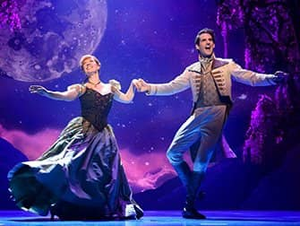 Frozen Broadway billetter - Anna og Hans