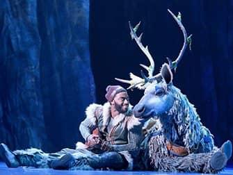Frozen Broadway billetter - Kristoff og Sven