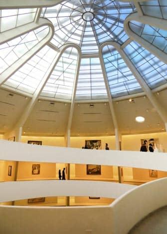 Guggenheim Museum i New York - Loftet