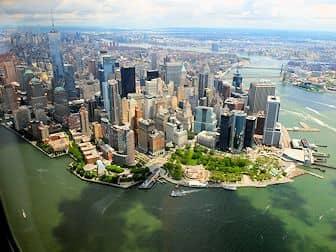 Helikoptertur i New York . Skyline