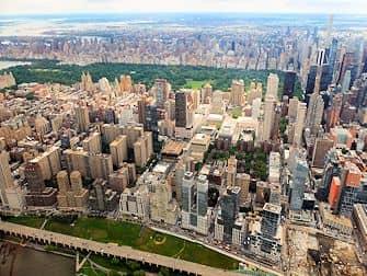 Helikoptertur i New York - Central Park