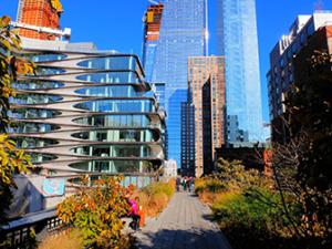 High Line Park i New York