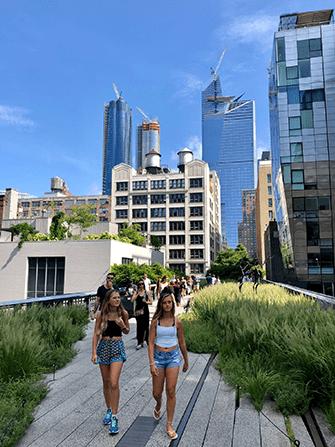 High Line Park i New York - Sommer