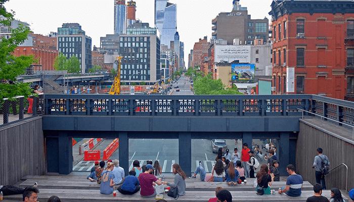 High Line Park i New York - Trapper
