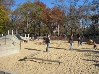 Legepladser i New York - Central Park sandkasse