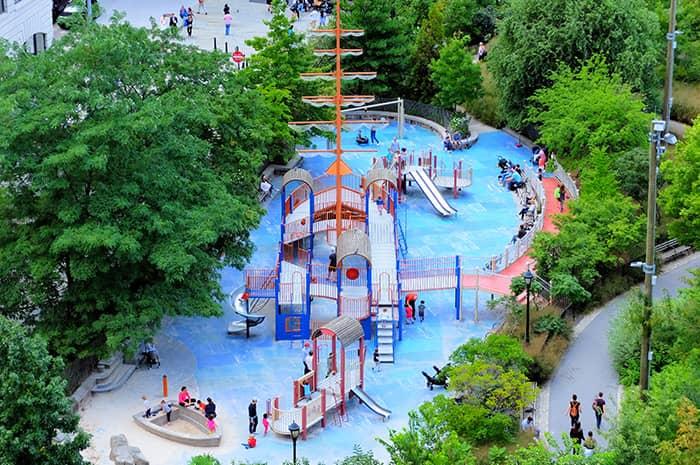 Legepladser i New York - Main Street Playground