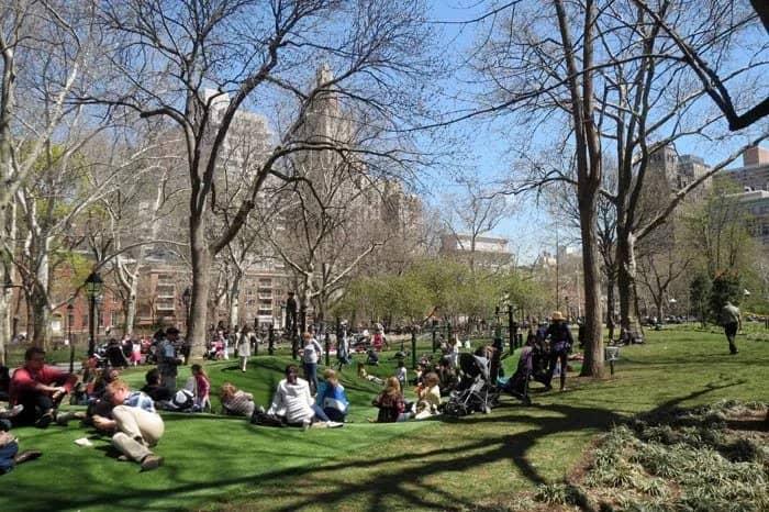 Legepladser i New York - Washington Square Playground