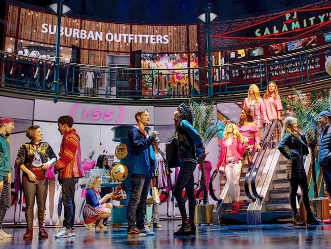 Mean Girls Broadway billetter - I shoppingcentret