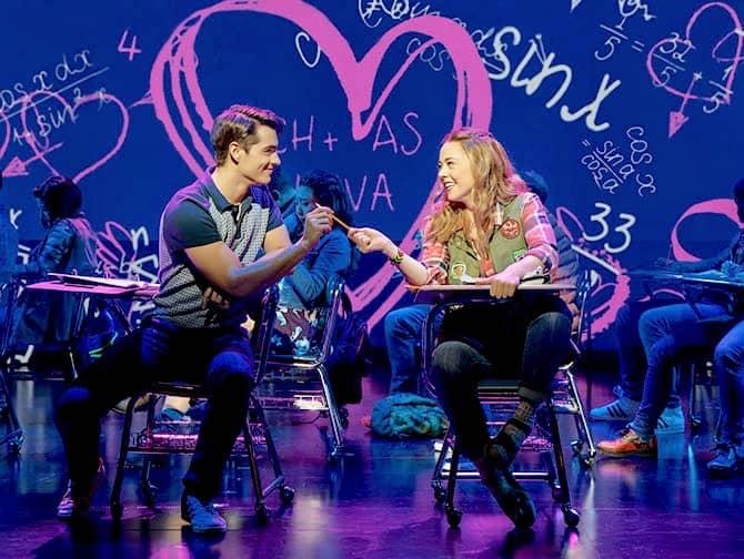 Mean Girls Broadway billetter - Romantik