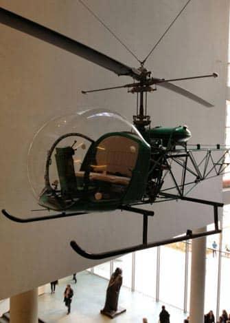 MoMA Museum of Modern Art i New York - Helikopter