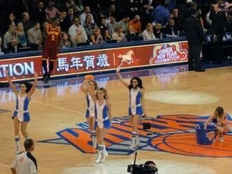 New York Knicks billetter - Cheerleaders