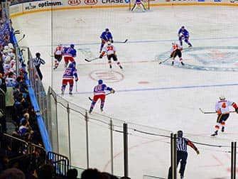 New York Rangers billetter - Ishockeykamp