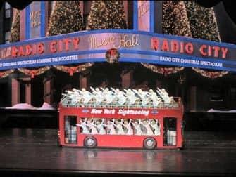 Radio City Christmas Spectacular billetter - Bus