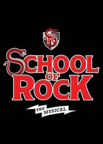 School of Rock Broadway billetter - Plakat
