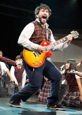 School of Rock Broadway billetter - Rock og rul