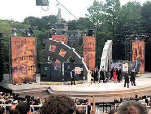 Shakespeare in the Park i New York billetter