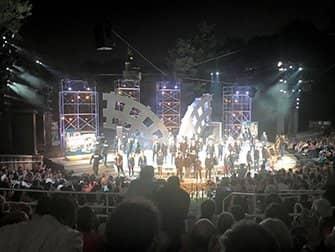 Shakespeare in the Park i New York billetter - Forestillingens slutning