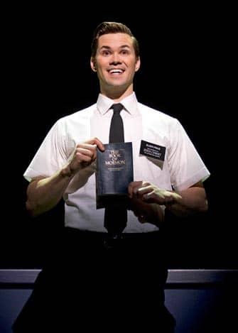 The Book of Mormon Broadway billetter - Elder Price