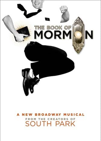 The Book of Mormon Broadway billetter - Plakat