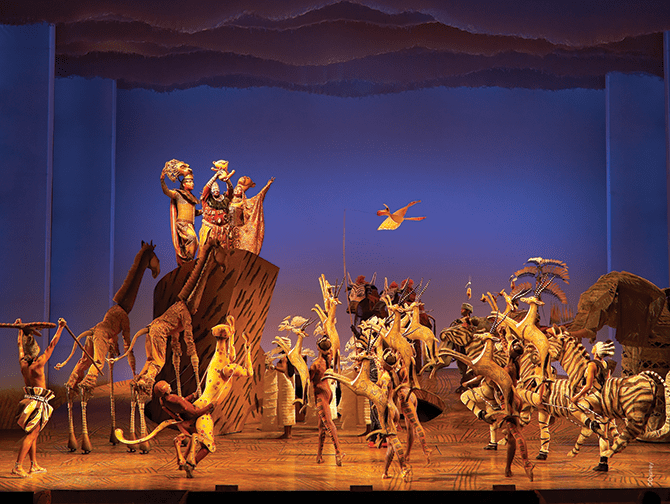 The Lion King Broadway billetter - Circle of Life