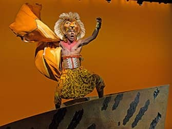 The Lion King Broadway billetter - Simba