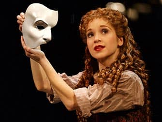 The Phantom of the Opera Broadway billetter - Fantomets maske