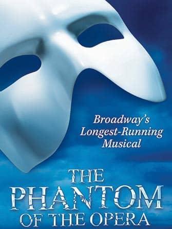 The Phantom of the Opera Broadway billetter - Plakat
