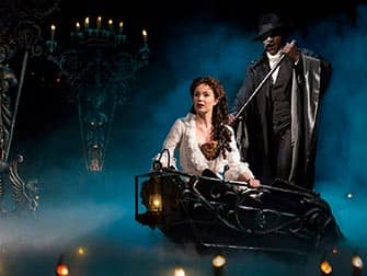 The Phantom of the Opera Broadway billetter - Scenen