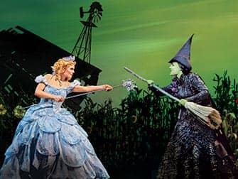 Wicked Broadway billetter - Heksene