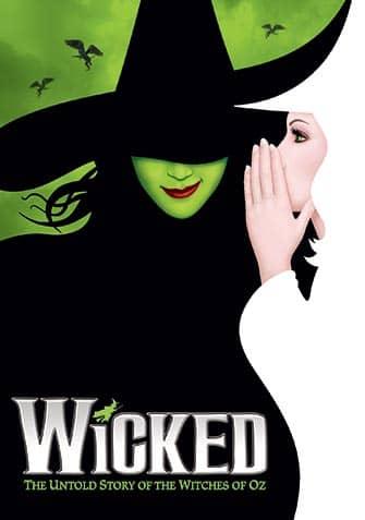 Wicked Broadway billetter - Plakat