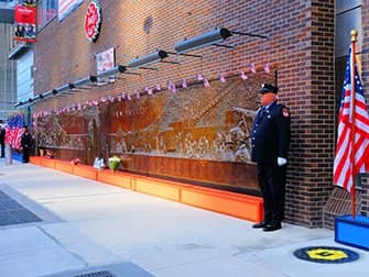 9/11 i New York - Memorial Wall