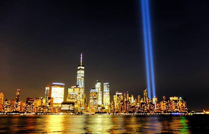 9/11 i New York- Tribute in Light