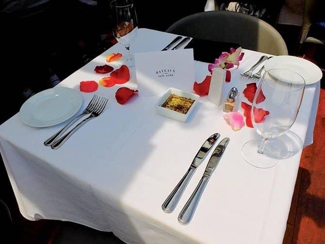 Bateaux Cruise med frokost i New York - Romantisk frokost