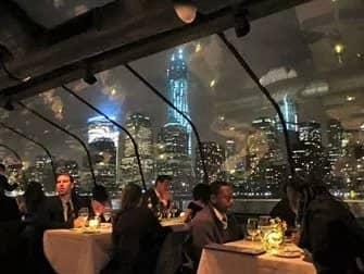 Bateaux New York Cruise med middag - Udsigt