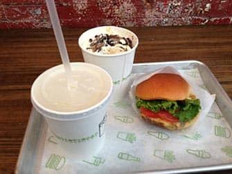 Bedste burger i New York - Shake Shack