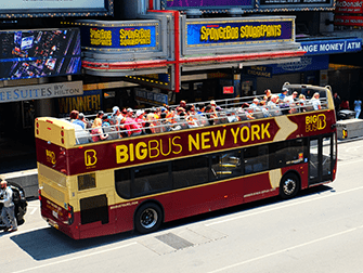 Big Bus i New York - Bussen