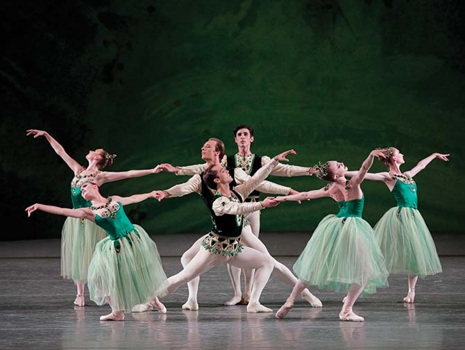 Billetter til ballet i New York - Emeralds
