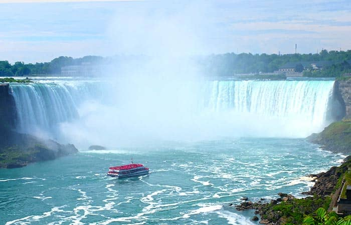 Canada, Niagara Falls og Finger Lakes 3-dages tur - Bådtur