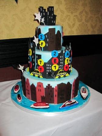 Carlo's Bakery Cake Boss i New York - Bryllupskage