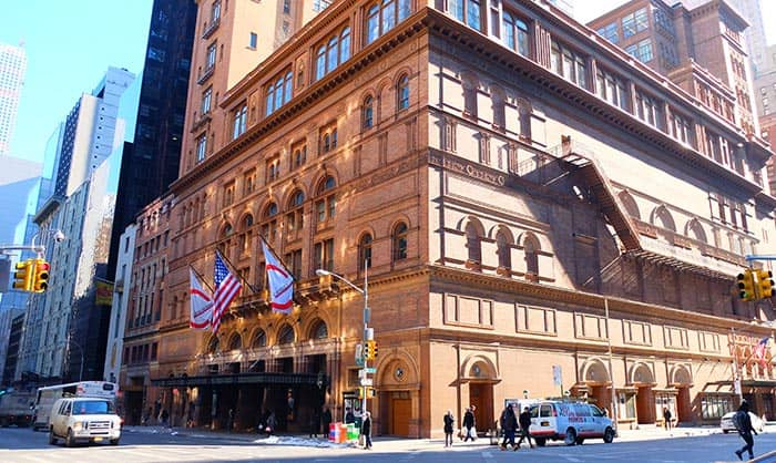 Carnegie Hall i New York - Koncerthus