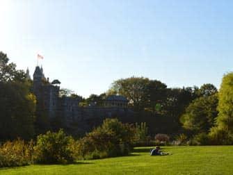 Central Park - Belvedere Castle om sommeren