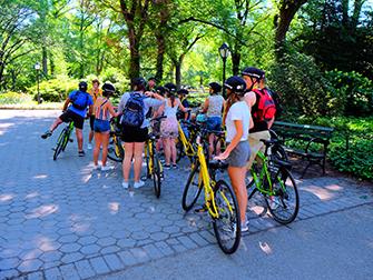 Central Park - Cykeltur