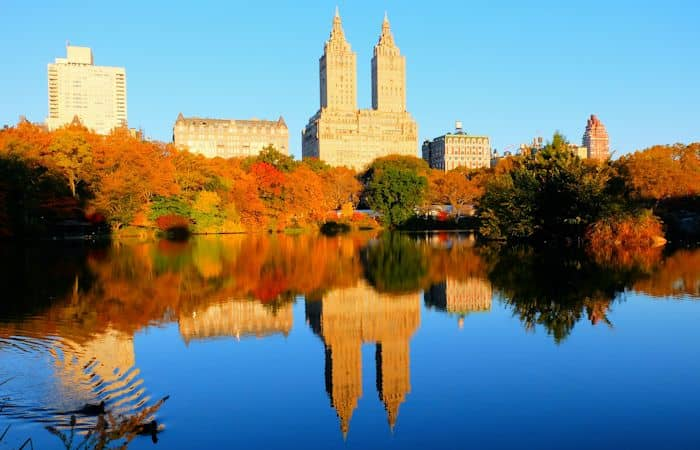 Central Park - Efterårsfarver